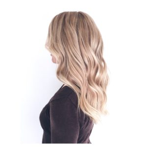 Olaplex Salon warm blonde