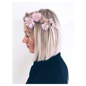 formal flower crown