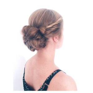 Formal styling Adelaide Twisted Bun