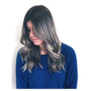 Grey Tones hair colour
