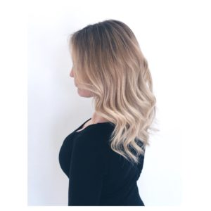 balayage Blonde Natural