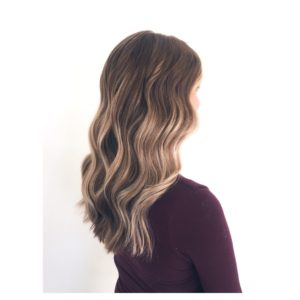 Hair Colour Balayage trend