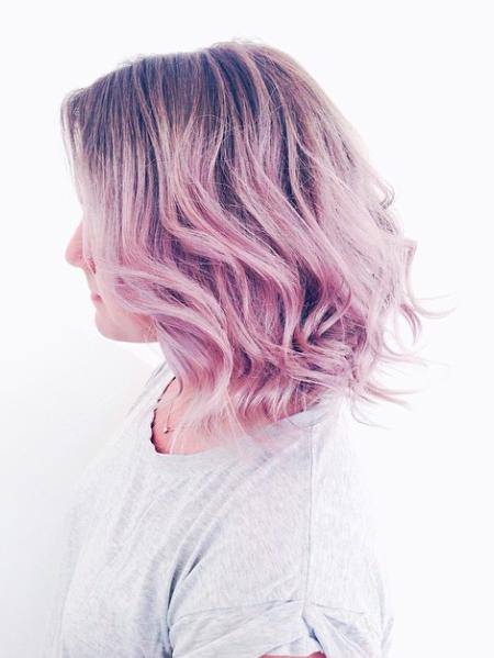 Purple,pink,pastel,hair