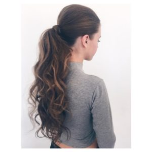 Formal styling Pony Tail