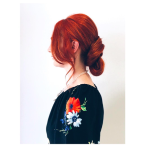 Formal Style Red Hair