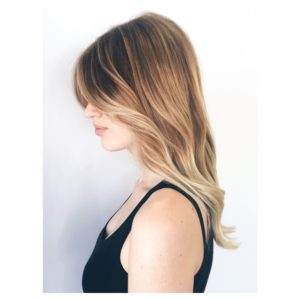 Balayage hair colour adelaide