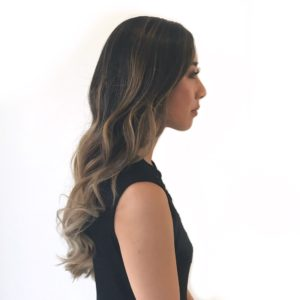 Balayage on Dark Asian Hair
