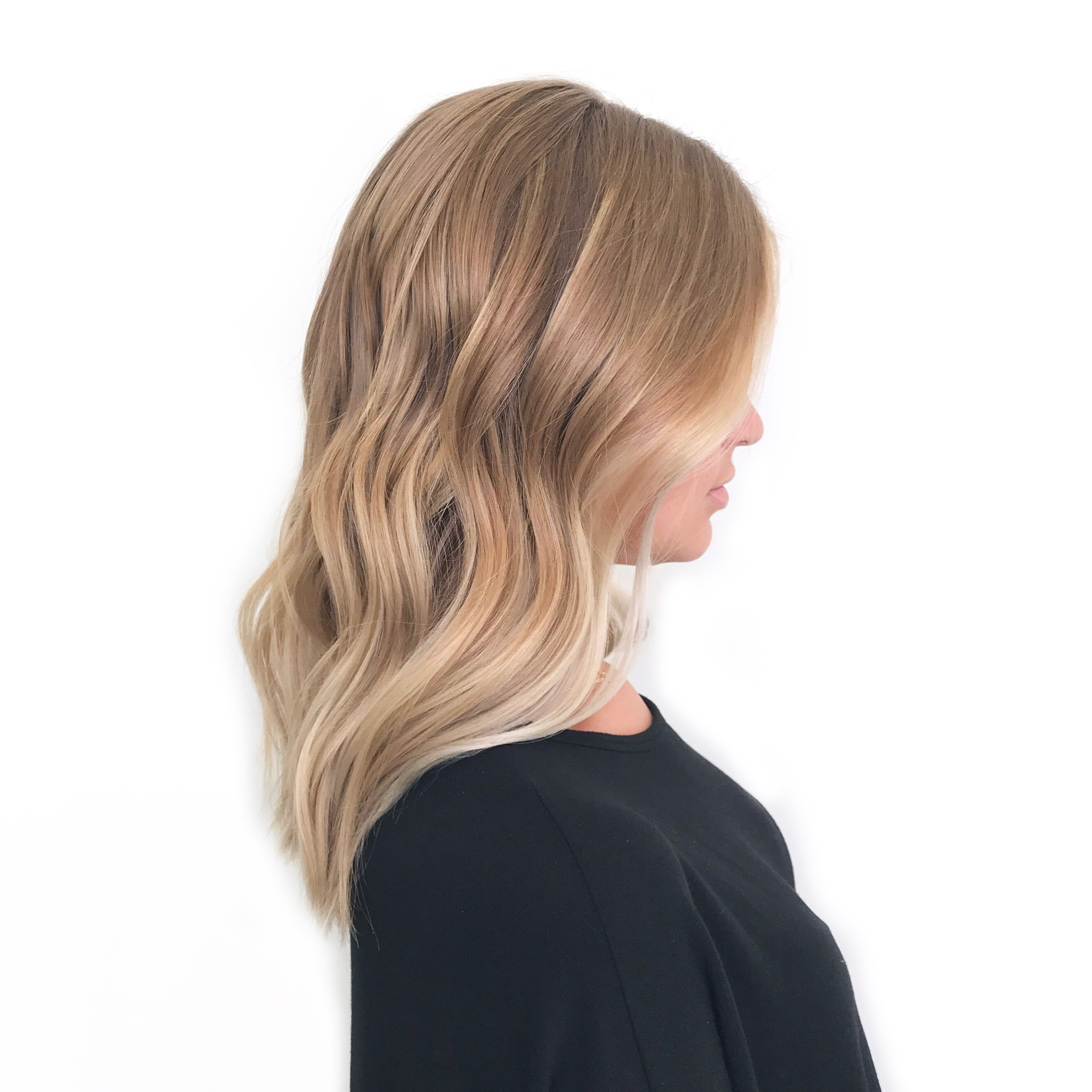 Blond Balayage Colour