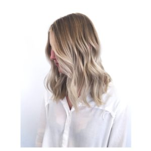 Ashy Blonde Hair Colour