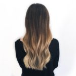 Blonde Balayage long