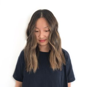 Asian hair balayage