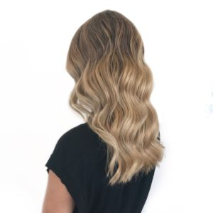 Balayage baby lights