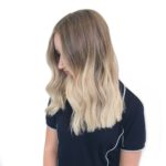 Light ends hair colour