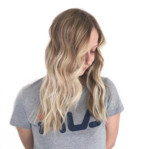 Blonde root shadow