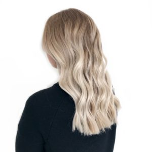 Lived in blonde balayage