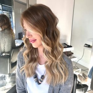 Face frame lightening hair
