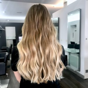 Light ends ombre