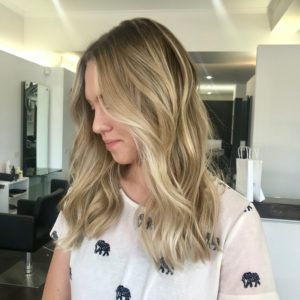blonde highlights lived in colour