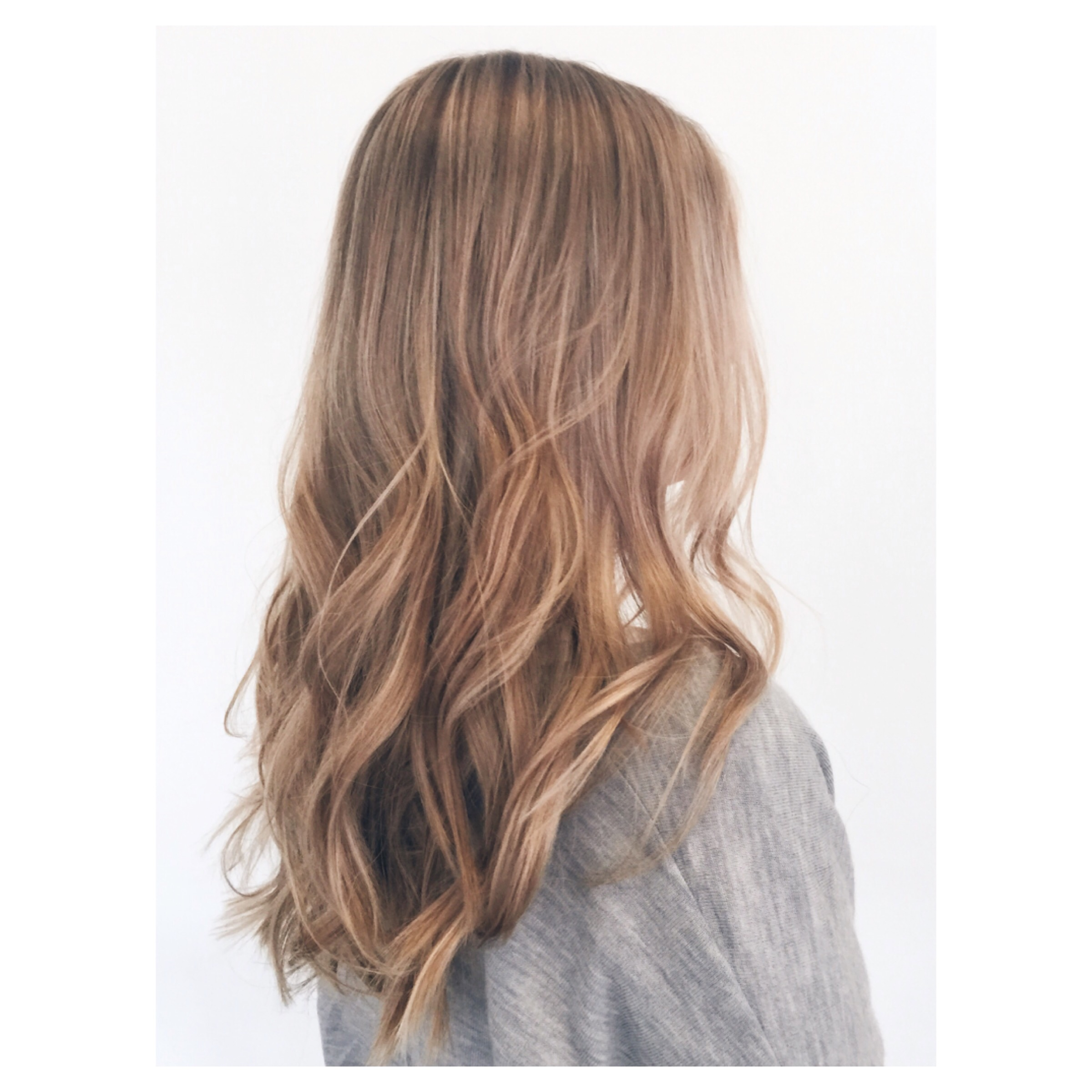 Rose Gold Highlights Yots Hair