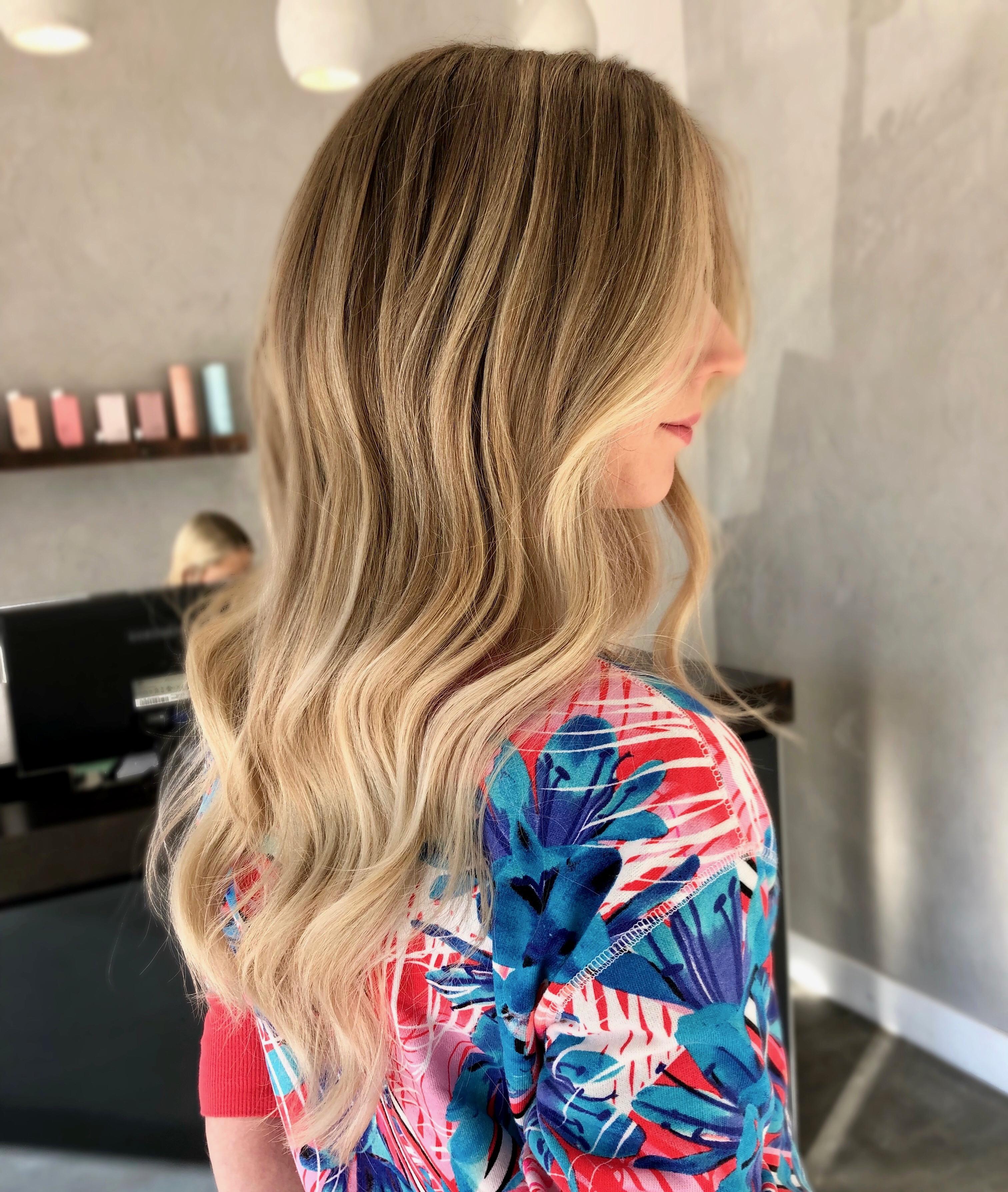 Honey Blonde Highlights For Medium Hair Yots Hair