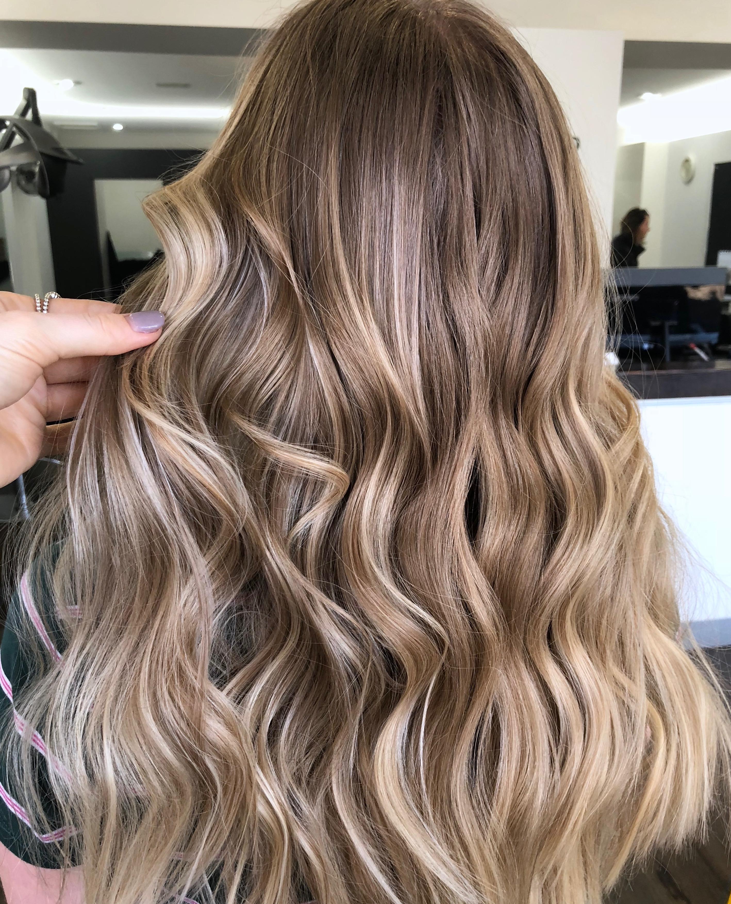 caramel balayage \u2013 Yots Hair